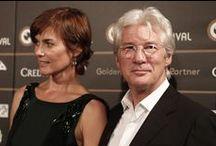 Richard Gere / Deux mariages et un divorce : Cindy Crawford (de 1991 à 1995) et Carey Lowell (depuis 2002) Un fils : Homer Jigme James  (avec Carey Lowell)