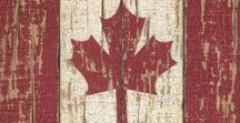 Canada Day / Canada Day décor and Canada themed ideas.