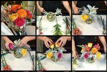 Como hacer arreglos de flores / #howto #diy #pasoporpaso #flores #como #arreglosflorales #flowerarrangements