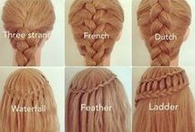HAIR tutorials / INSPIRE your look with a little pinterest tutorial!