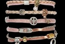 MY66 Bracelets / Beautiful (Wrap)Bracelets made of real leatther and small accessories.