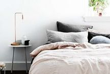 Home: Bedrooms / Ideas to create a calm, light and plant filled bohemian sleeping sanctuary. Aaaaand breeeathe....