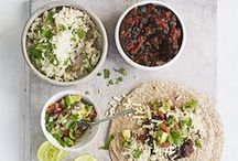 Eat: Lunch, dinner / Lunch and dinner recipe ideas.