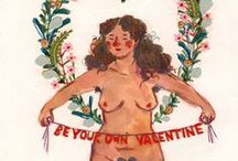 Love yo'self / Dare to love your body and other feminist shiz.  / by Hannah Bullivant Seeds and Stitches