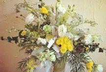 Free Flowing flower arrangements