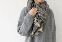 Style: Winter warmers / Coats, jumpers, hats, scarves and socks; winters staple attire.