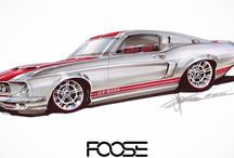 Car Sketch design and tuning