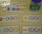 Word Work Activities / Literacy centers, word work, name activities, and literacy ideas for Kindergarten and First Grade