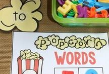 Sight Word Activities / Sight word activities and practice with sight words for Kindergarten and First Grade