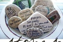 Quotes, words and thoughts / by Bee Yourself Designs