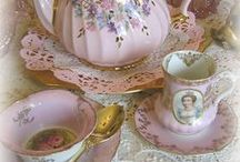 Teapots and teacups My Collection / by Bernice Orf