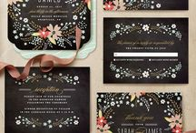 faire-parts, invitations...