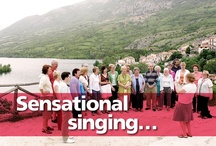 Sensational singing / Photographs from our singing holidays, and some of the gorgeous places we take singing groups to.