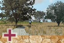 Realize / GIS SketchUp Google Earth 3DS Max Vue Photo Simulations