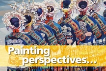 Painting Perspectives / Our brilliant range of painting locations and tutor & client artwork