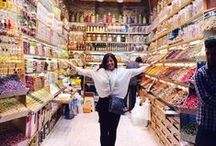 Candy Stores Around the World / These are just a few of my favorite #candy stores around the world.