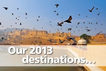 2013 Destinations / Shots of the beautiful range of places that we are heading in 2013.