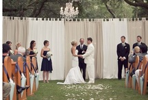 Wedding Ceremony Backdrops / by Monica