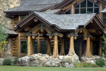 Mountain Home Style Hideaways / One of my favorite weekend getaways is to our home in the Colorado Rockies. So beautiful, cozy, quiet and peaceful.  I love all the colors, patterns and textures of rustic living.