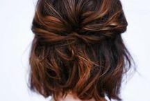 hairs / messy hair is happy hair
