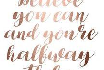 Quotes & Inspo