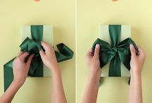 gifting / wrapping and pen palling ideas / by Tyler Feder