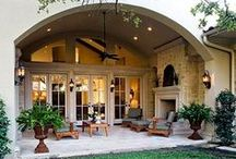 Outdoor Living / Cosy & dreamy outdoor living spaces