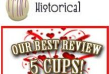 5 CUPS - HISTORICAL / FABULOUS READS - CTR'S HIGHEST RATING