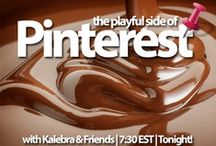 The Pinterest Show! / Double the Trouble but Triple the Fun!  Check us out bi-monthly over at www.kalebragplus.com  This is where we discuss all things awesome - on Pinterest ;)  DIY, Travel, Tips and Tricks and Celebrity Gossip! (jk!)