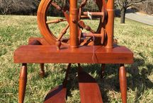 Fiber--Spinning Wheels / Old spinning wheels, yarn winders, and other spinning related items.