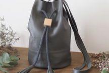 Rosie Drake-Knight / Handmade leather accessories by Rosie Drake-Knight.