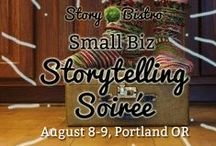 Small Business Storytelling Soiree / Setting the mood, sharing resources, connecting and promoting attendees and sponsors. Join us this August 8 & 9 in Portland: bit.ly/soireepdx