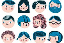 characters / illustration inspiration - people / by Tyler Feder