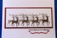 Christmas Cards / All cards made with Stampin' Up! products only