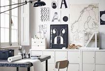 home : creative space / by • k a r i n •