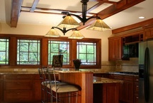 lovely kitchens. / a girl can dream, can't she?