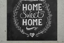 Home sweet home. / by Marion Thiéry