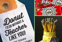 Teacher Appreciation Gifts / Amazing and creative little gifts for your amazing school teachers!