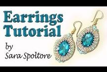 Beading Tutorial by Sara Spoltore (alias BeadsFriends) / In this board you can find all the beading tutorials I made. Enjoy them!
