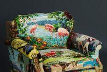 La tapisserie dans tous ses états ! / Discipline ancestrale, la tapisserie est à nouveau dans l'air du temps grâce à la mode qui invente des détournements audacieux de cette technique créative.