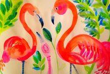 Illustrations: Flamingos! / by Jessica Ann Baker