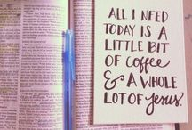Coffee & Whole Lot Of Jesus / The essentials - coffee and Jesus!