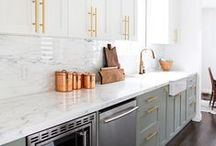 Kitchen + Dining Room / by Lisa Bond