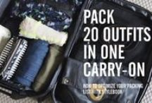 // Travel Packing // / Tips and hacks on how to pack like a pro!