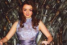 The Arya Stark Show / Game of Thrones / by Michael Colligan