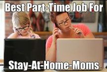 Work From Home / Ideas, tips, and advice on ways to create an income, and jobs you can do from home as a stay-at-home-mom.