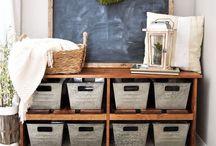 Organization•Storage Ideas