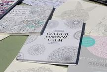 Art for Grown-ups! / Adults all over the world are rediscovering the joys and benefits of colouring - it's not only calming, it's a chance to get creative. Why not try your hand at some colouring in for grown ups and de-stress today? Here are some of our favourites!