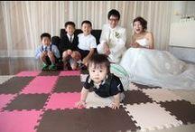 Hideshi&Yoko / ウェディングレポート  -お子様とご一緒にアットホームな一時を!-