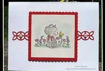 Pretty Kitty Stampin' Up! / An adorable kitty stamp set by Stampin' Up! called Pretty Kitty